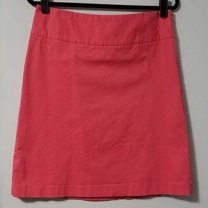 Adorable Merona pink pencil/A line skirt, 8